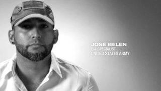 U.S. Army E-4 Specialist Jose Belen