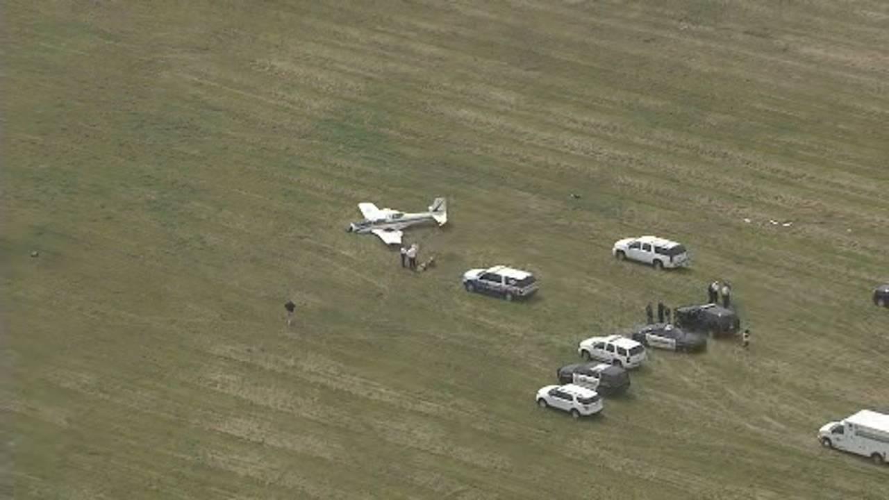 Small plane crash Livingston County 2