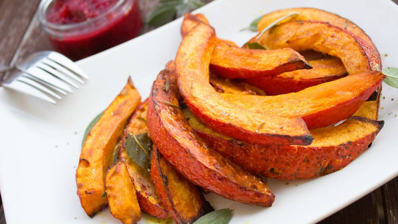 Vegan pumpkin dish