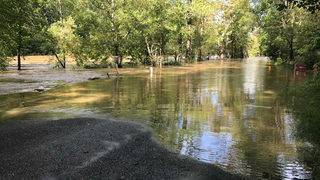 Rockbridge County faces flooding issues after heavy overnight rains
