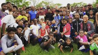 Central Michigan University coaches, players host free football clinic&hellip&#x3b;