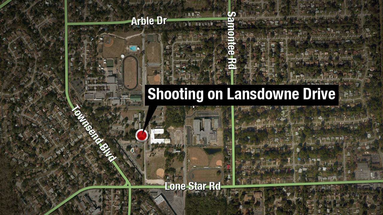 Map - Landdowne shooting
