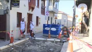 St. Augustine businesses say repairs keeping customers away