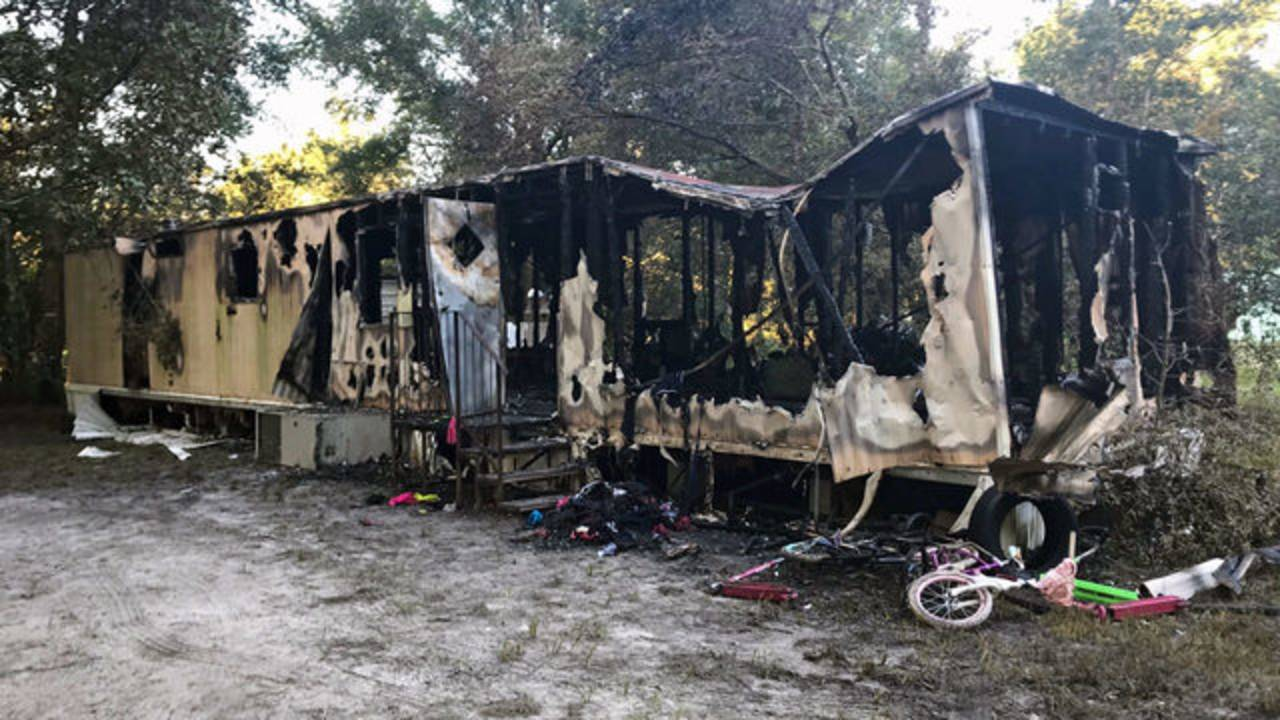 Pamona Park trailer fire