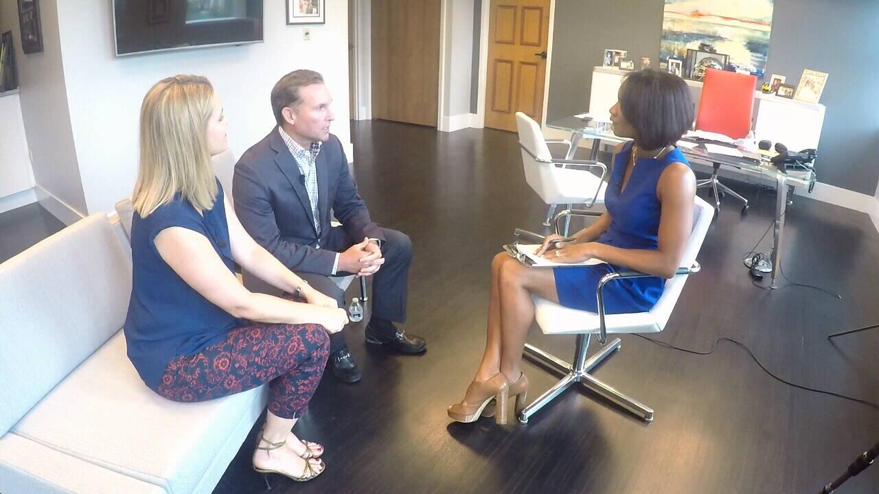 Mayor, Molly, Joy interview