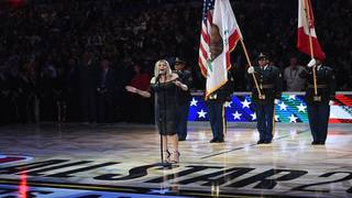 Fergie explains National Anthem performance