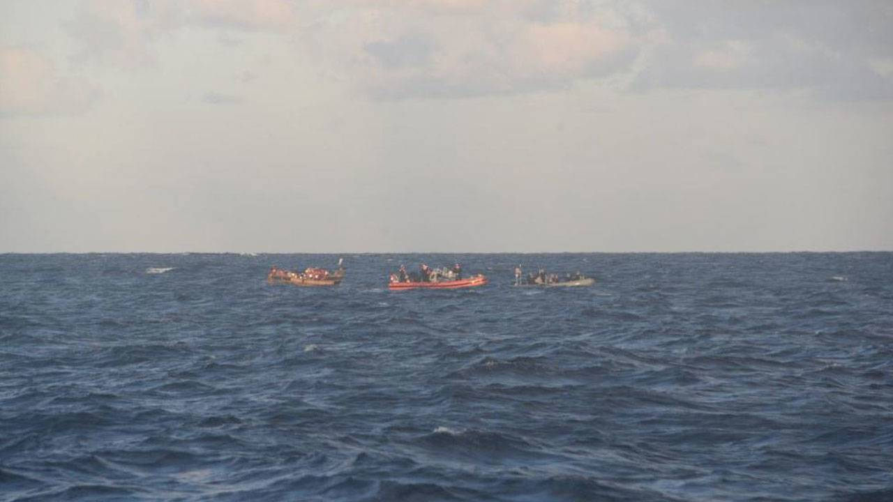 US Coast Guard Rescue of Cuban migrants