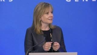General Motors CEO Mary Barra addresses company's future plans