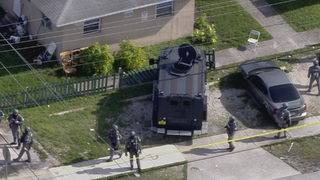 Murder suspect shot as authorities execute search warrant at Hollywood&hellip&#x3b;