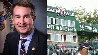Gov. Northam to throw first pitch for Pulaski Yankees