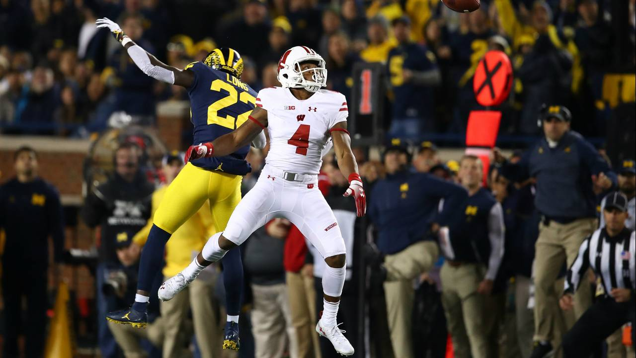 David Long Michigan football vs Wisconsin 2019