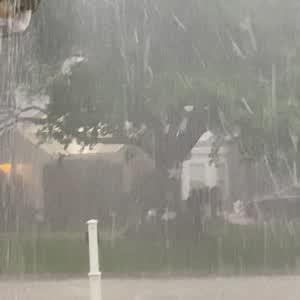 Hail in Thunderstorm